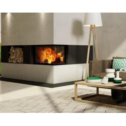 Llar de foc de llenya Romotop Heat 2G S 70.44.33.13