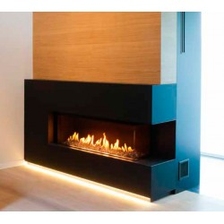 Llar de foc de gas M-DESIGN Luna 1300 CL/CR Diamond