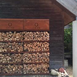 Emmagatzematge de llenya OFYR wood storage