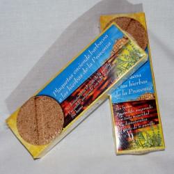 Plaquetes encesa barbacoa (herbes Provença)