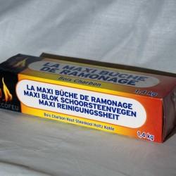 Efecto deshollinador amb flama blava