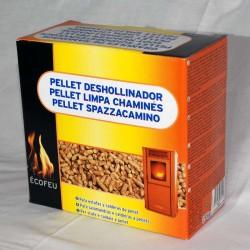 Pellets deshollinador para estufas y calderas de pellets