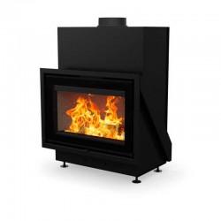 Llar de foc de llenya VISTA60 modern i adaptable