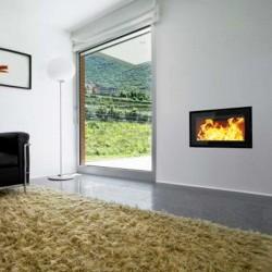Llar de foc de llenya VISTA 600 modern i adaptable