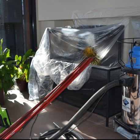 Limpieza y deshollinado de chimeneas