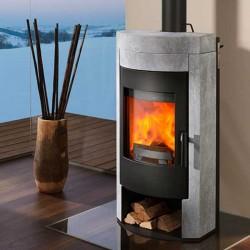 Estufa de leña IMPOSA calor natural y duradero